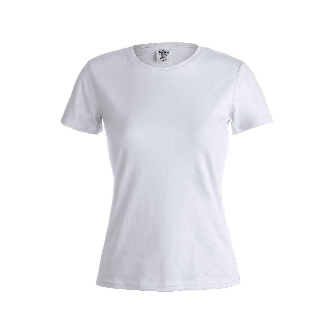 "T-Shirt Mulher Branca ""keya"""